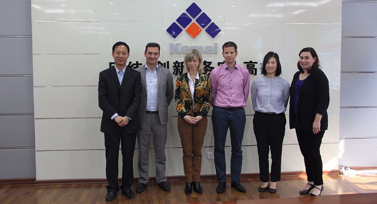 米其林采购团队访问4118ccm云顶集团网址yun天津生产基地