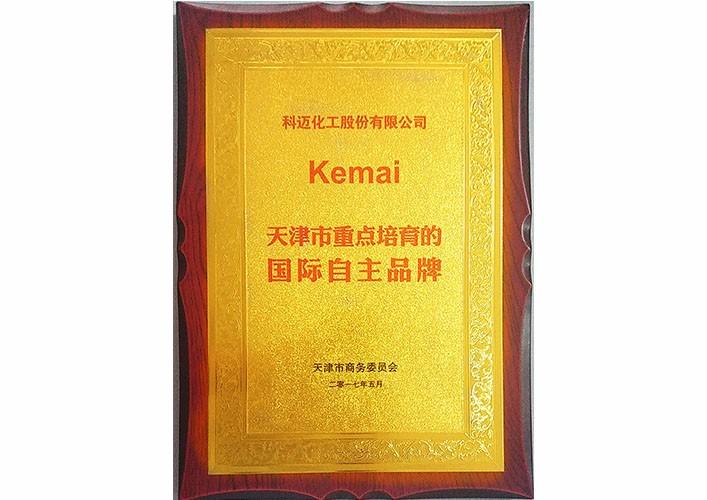天津市重點培育的國際自主品牌