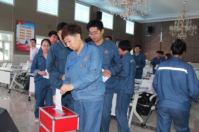 科迈化工股份有限公司党支部圆满完成换届选举工作!