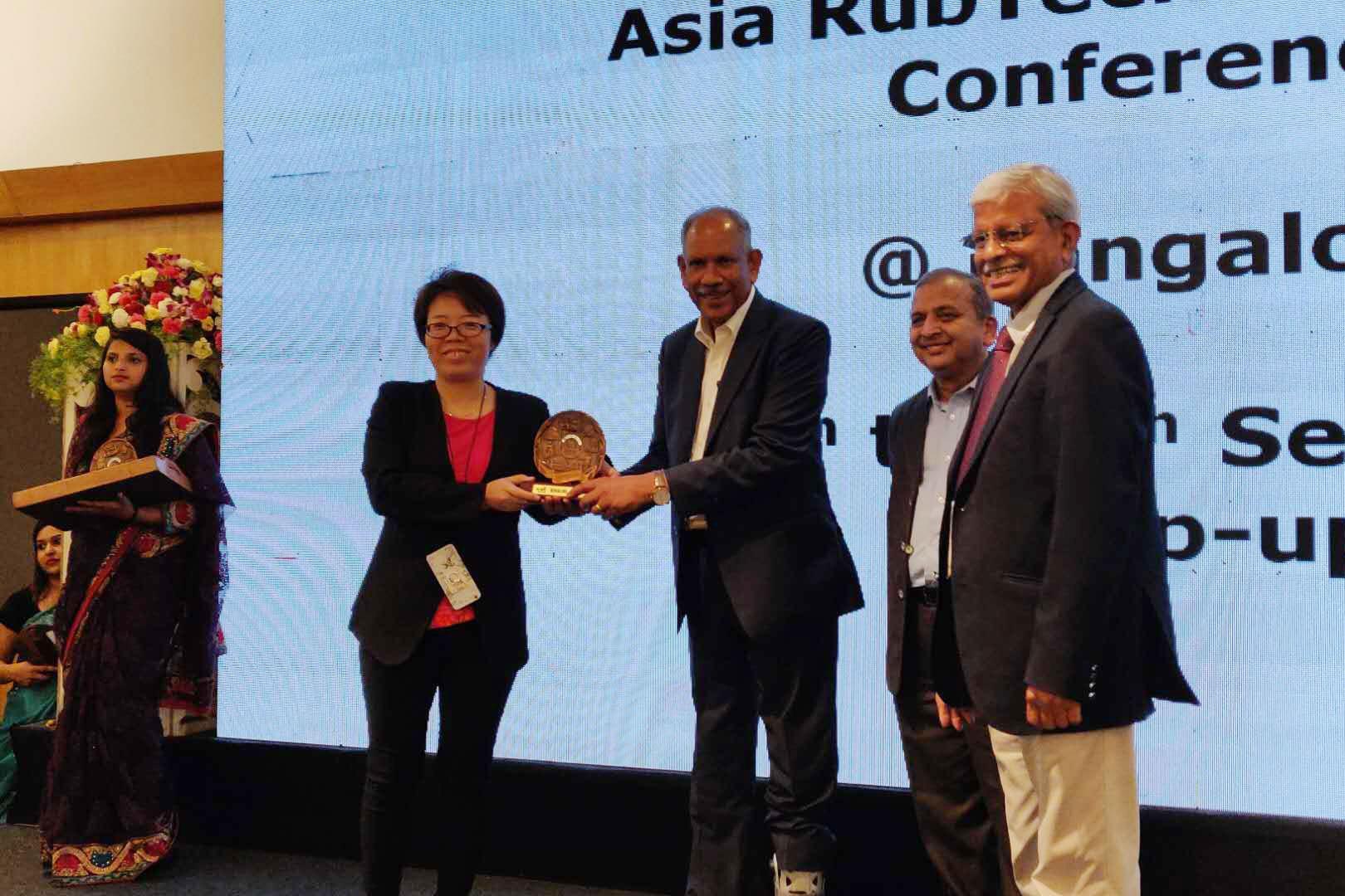 科迈股份助力2018年亚洲橡胶技术博览会!